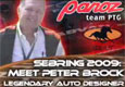 Sebring 12H 2009 Sebring 2009 - Meet Peter Brock