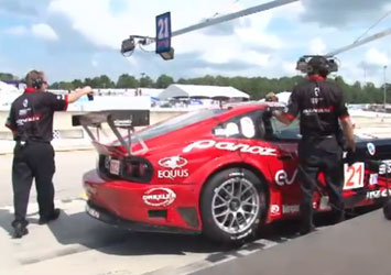 video Petit Le Mans 2009